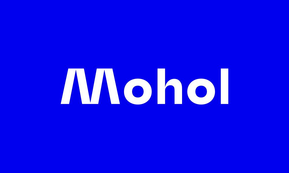 Il carattere tipografico Mohol.